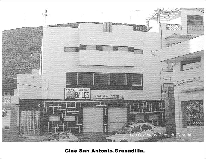Cine San Antonio.Granadilla.