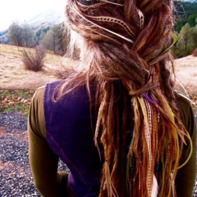 I've always secretly wanted dreads, I wish I had the guts to do this.
