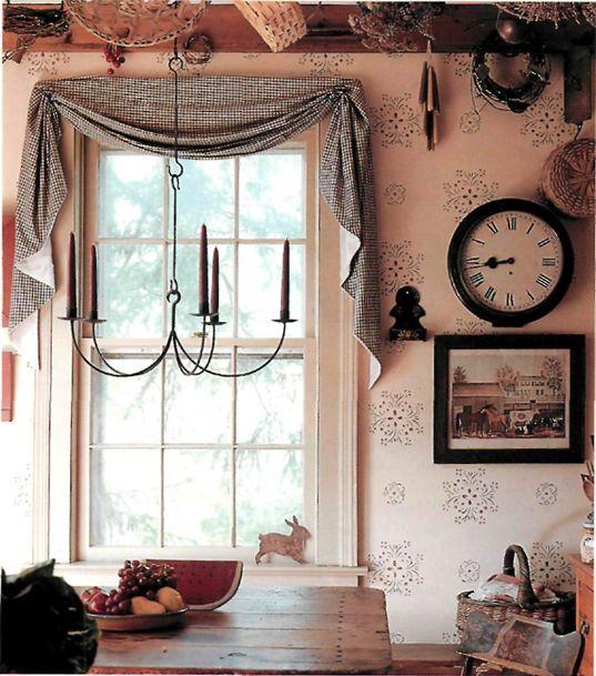 Scandinavian Kitchen Curtains