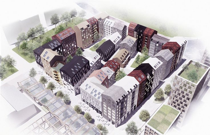 Kjellander + Sjöberg Architects Kolkajen, Stockholm