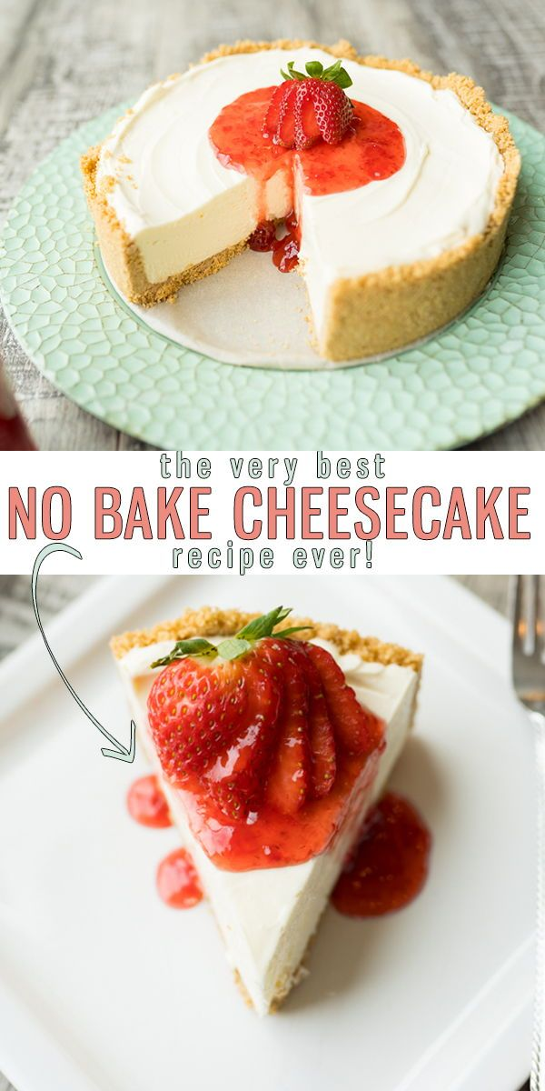 No Bake Cheesecake Is An Easy Recipe With A 4 Ingredient