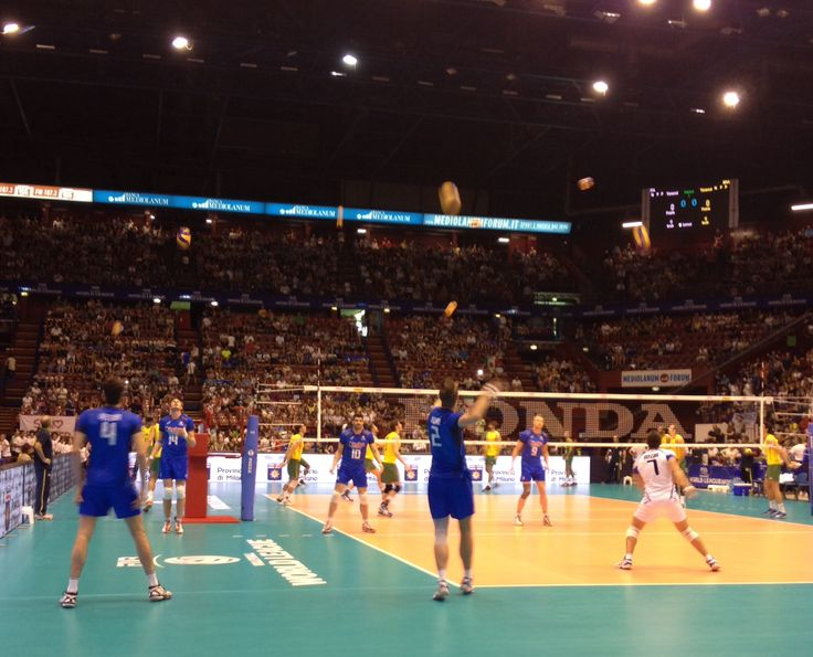 World League 2014 Italy-Brasil I was there