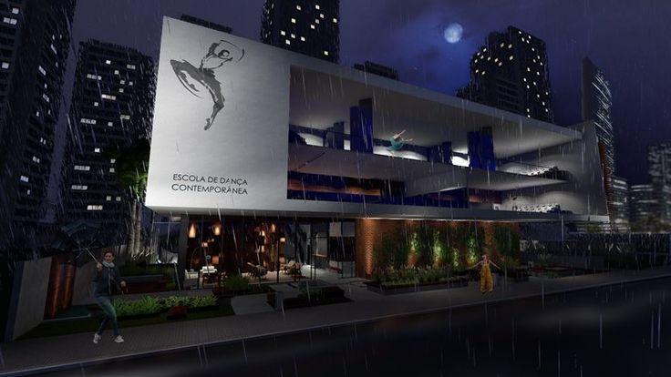 Contemporary Dance School, Cascavel, 2012 - Wilton Machado Neves