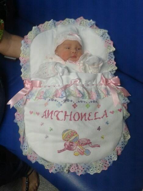 Sobre para bebé recien nacido - Imagui