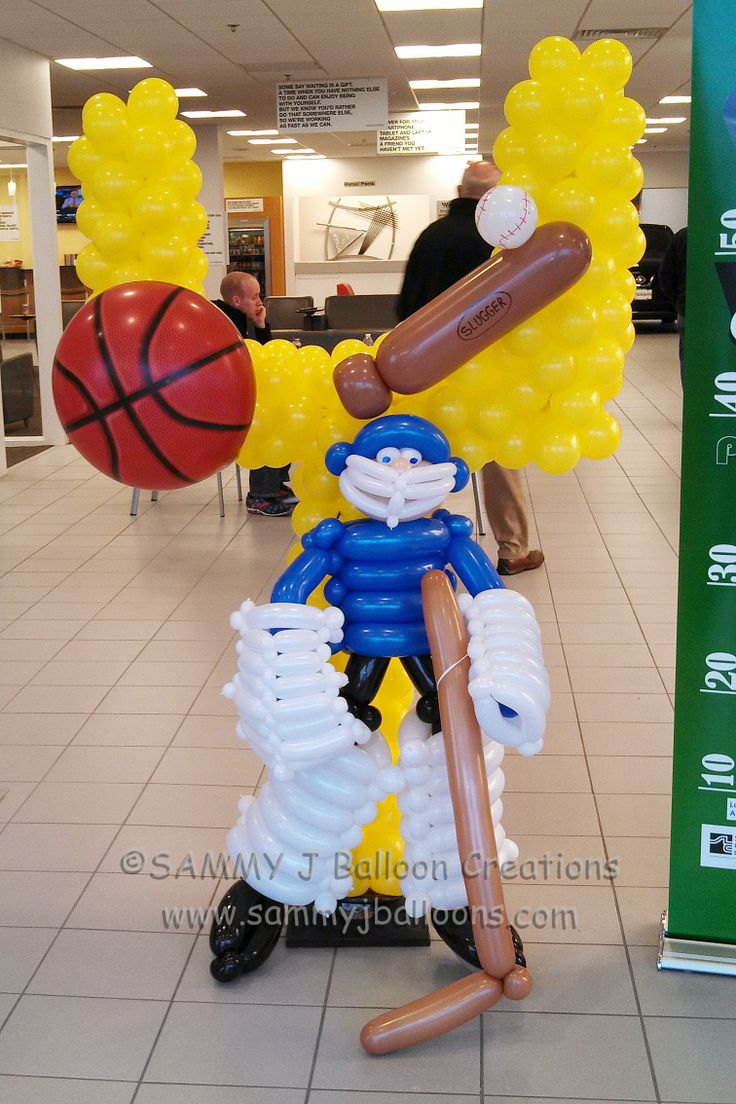 Netball Balloon Decorations