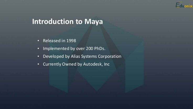 Learn #Maya 3D #Animation For free  https://www.eduonix.com/courses/Graphic-Design/beginners-guide-to-modeling-with-maya?coupon_code=Mayafree
