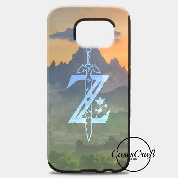 Zelda Logo Art Samsung Galaxy S8 Case   casescraft