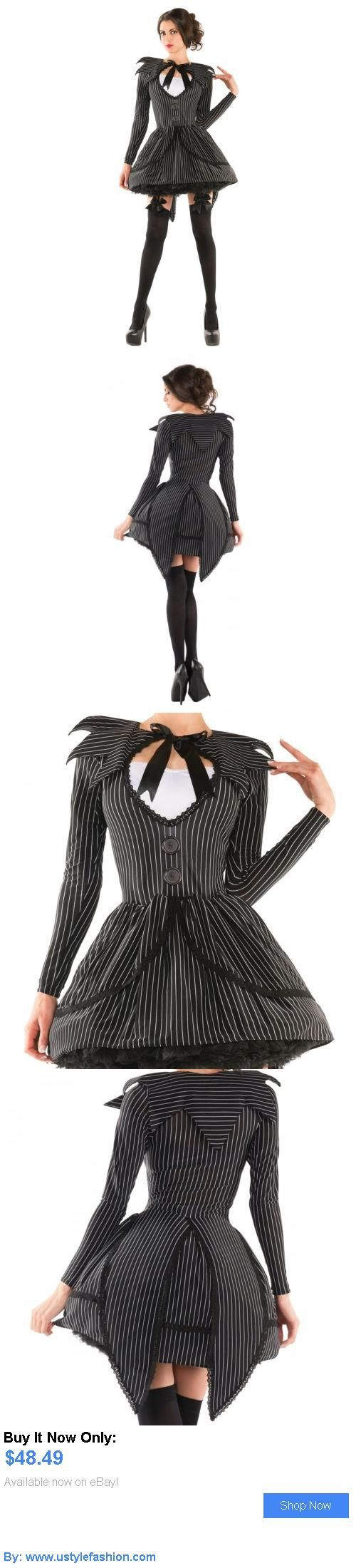 Costumes and reenactment attire: Jack Skellington Costume Adult Female Halloween Fancy Dress BUY IT NOW ONLY: $48.49 #ustylefashionCostumesandreenactmentattire OR #ustylefashion