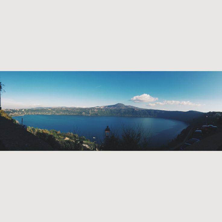 Castel Gandolfo, Lago Albano #italy Papal summer residence