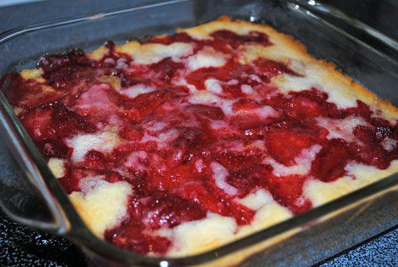 Gluten Free Strawberry Cobbler  (can use fruit of your choice)    http://www.organizedchaos-lisa.blogspot.com/2012/04/recipe-strawberry-cobbler.html