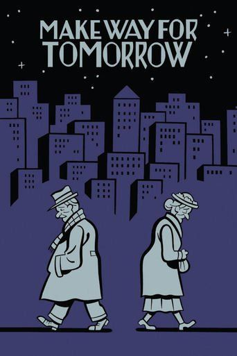 """Make Way for Tomorrow (1937)   http://www.getgrandmovies.top/movies/15166-make-way-for-tomorrow   At a family reunion, the Cooper clan find that their parents' home is being foreclosed. """" temporarily,"""" ma moves in with son george's family, pa daughter cora. but the parents are like sand gears of their middle-aged children's well regulated households. can old folks take matters into own hands?""""="""""""