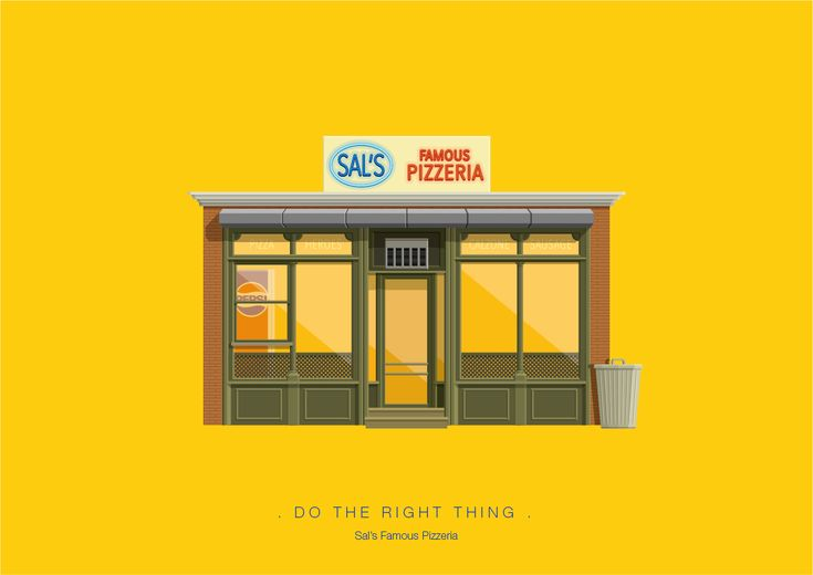 Frederico Birchal, Do The Right Thing, Famous Movies & TV Shows Setting, 2015
