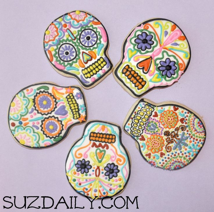 galletas para el dia de los muertos day of the dead cookies plus some cool