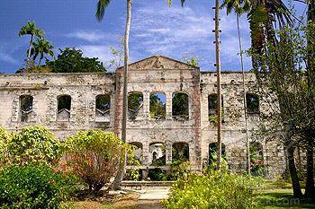 vintage caribbean plantation photo | ... park former 19th century sugar plantation house plantation house