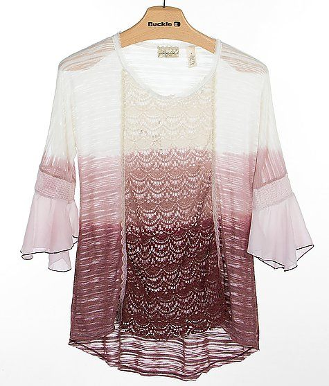 Gimmicks by BKE Ombre Top at The Buckle store I love it