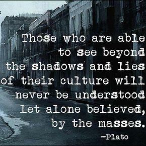 "WESTERN PHILOSOPHY: ""To See Beyond the Shadows and Lies"" / Plato ☮"