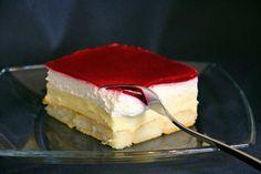 Beste Rezeptesammlung: Himbeer-Puddingcreme Schnitten (Kuchen ohne Backen)