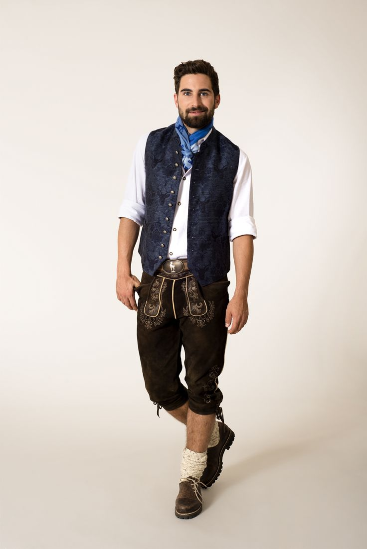 #Herren - #Tracht mit Leinen-Weste - #lederhose #lederhosn #fashion #man #men #mode #herrenmode