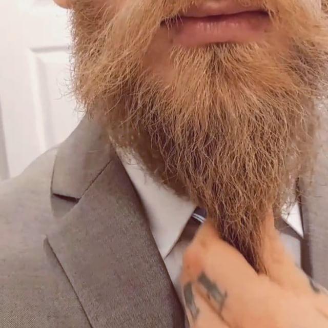 beard stroking