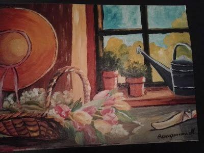 Βάλε χρώμα: Πίνακας ζωγραφικής
