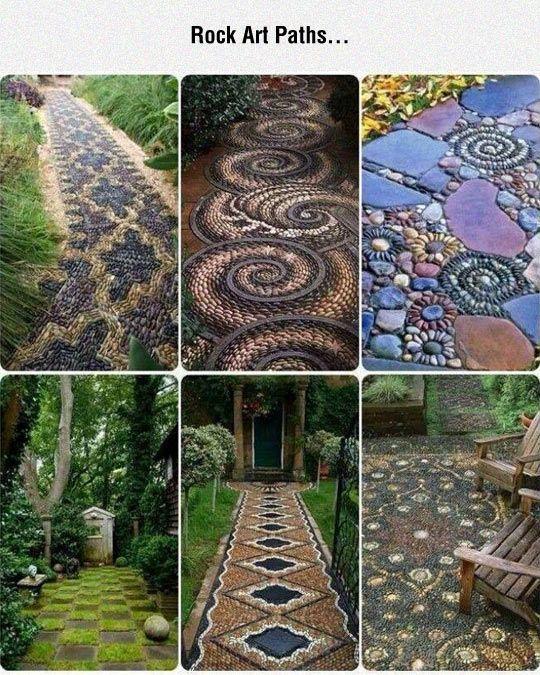 Beautiful Stones Arrangements