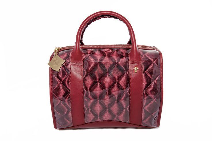 Crystal Bag - All Lipstick red www.federicalunello.com #federicalunello #bags #accessories #handamade #madeinitaly
