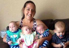 11-Aug-2014 11:35 - BRITSE (29) KRIJGT VIER KINDEREN (GEEN VIERLING!) IN 9 MAANDEN. Je moet het maar doen: vier kinderen krijgen in negen maanden. De Britse Sarah Ward werd enkele weken na de bevalling van haar zoontje Freddie...