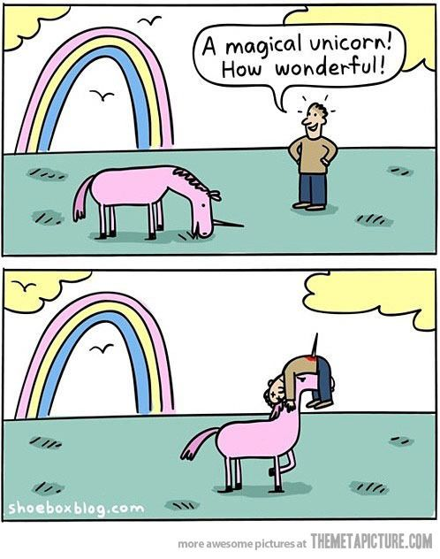 """""""Une licorne magique ! C'est merveilleux !"""""""