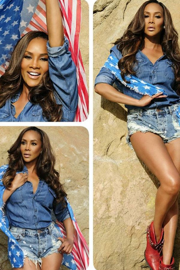 Vivica Fox - Niecy Nash, Ayesha Curry, Marjorie Harvey and More Deliver Festive Fourth of July Looks