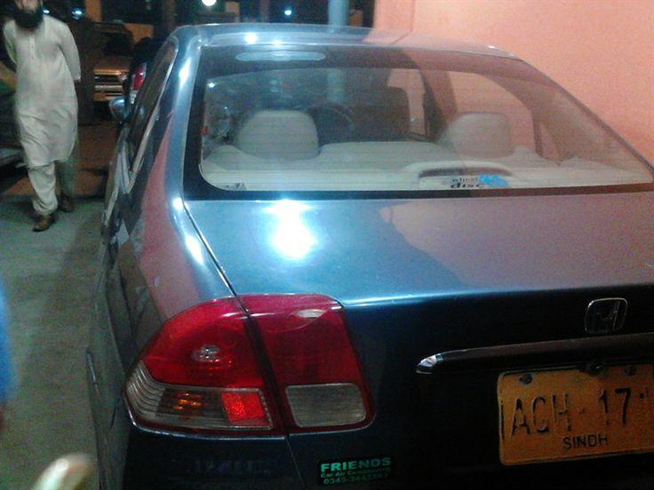 Honda Civic for Sale in Karachi, Pakistan. Honda Civic VTI Oriel Model 2004  http://www.naicar.com/car/3616/
