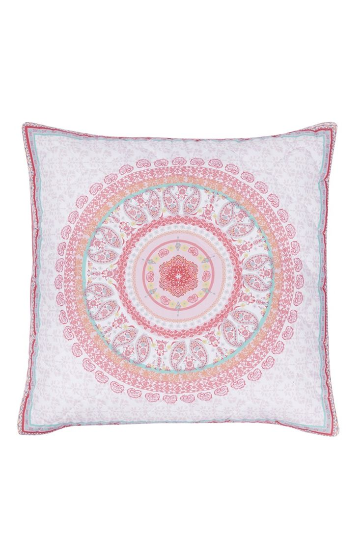 Primark - Coussin matelass motif cachemire Coussin Pinterest Moroccan, Room decor and Pillows