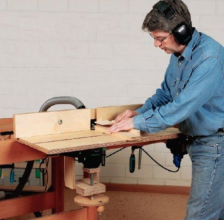 Make your own clamp-on router table for your workshop with this helpful guide.