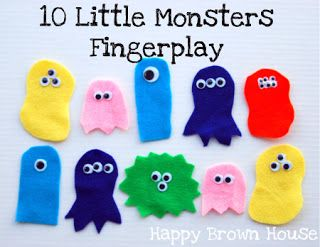 Totally Tots: Monster Songs & Fingerplays – If You're a Monster and You Know It