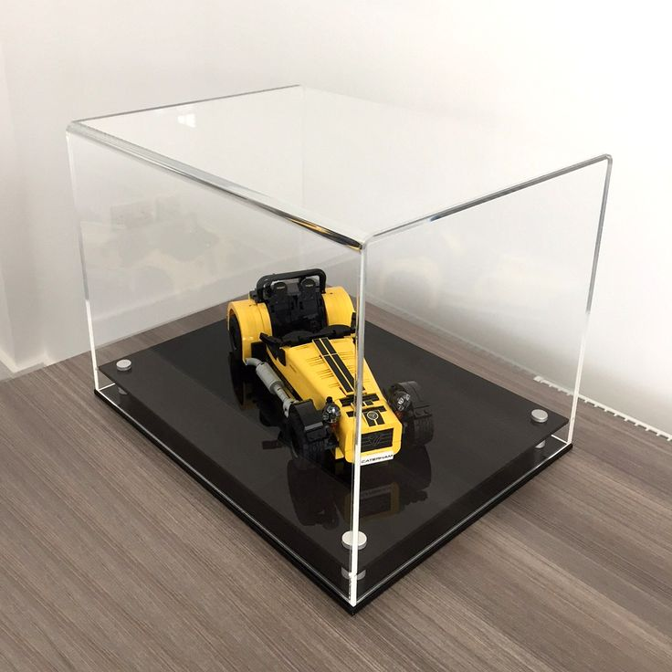 Collectors model display cases, great for collectible items such as cars, boats and more.  Available in a range of sizes and colours https://www.luminati.co.uk/model-display-cases/modern-model-display-case/ Designed and Made in the UK by Luminati Ltd