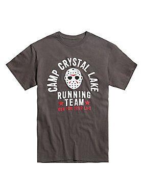 Perfect Friday The Camp Crystal Lake Running Team T Shirt