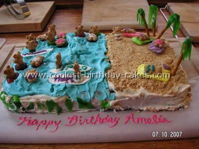 7 best Cakes images on Pinterest Birthday cakes Birthday ideas