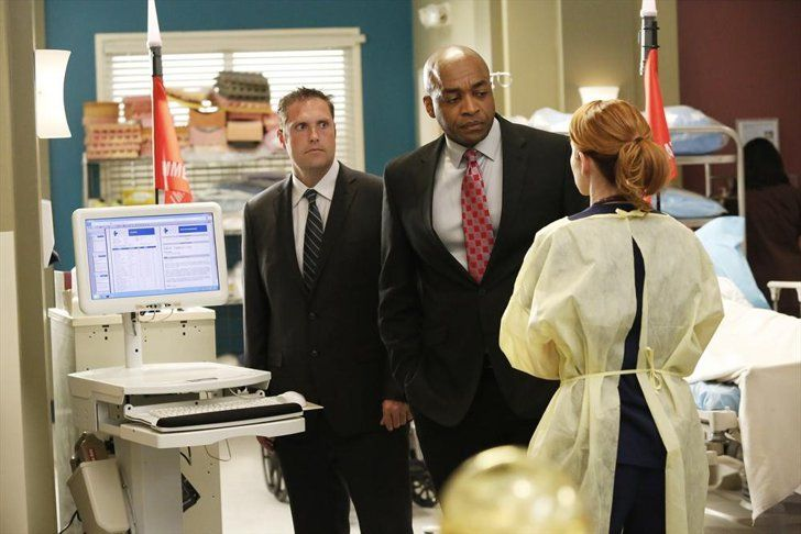Pin for Later: Get Ready For Drama, Grey's Anatomy Fans  Rick Worthy and Sarah Drew on Grey's Anatomy.