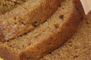 Veganskt Pumpa- Bananbröd proteinberikat med Ultralife Risprotein.