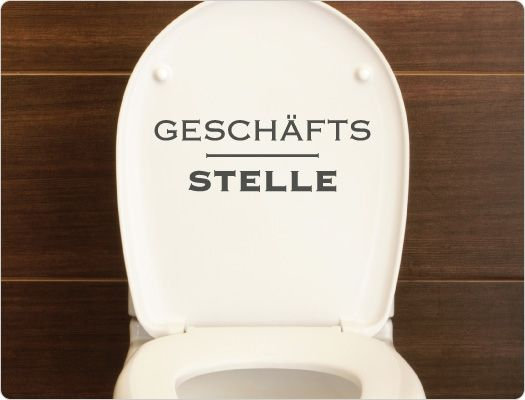17 best images about toilettenaufkleber wc deckel sticker on pinterest 1 keep calm and shit. Black Bedroom Furniture Sets. Home Design Ideas