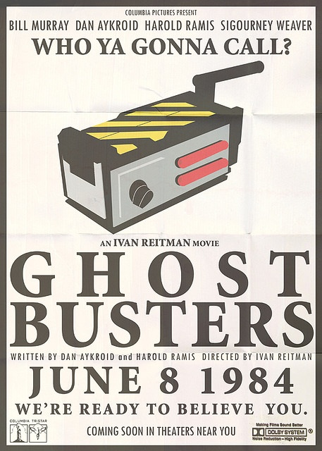 """Ghostbusters: """"Who ya gonna call?"""" Almost as iconic as """"Who loves ya, Baby?"""""""