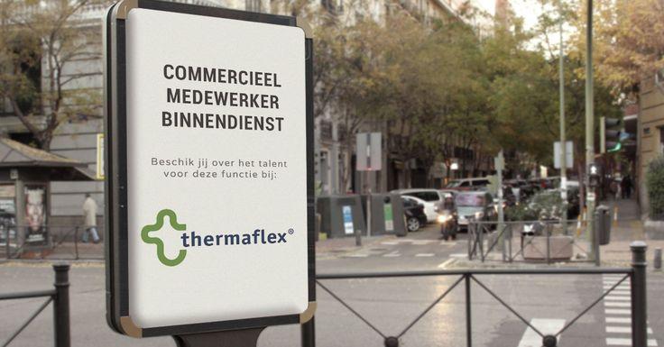 Ben jij de nieuwe Commercieel Medewerker Binnendienst bij Thermaflex Isolatie B.V.?