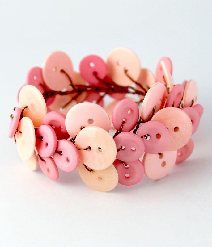 Ivy bracellet - baby pink