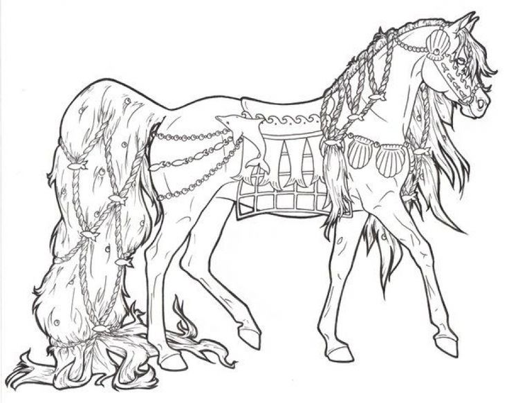 difficult coloring pages of horse for adults animal coloring pages pinterest hstar och frglggningssidor - Western Horse Coloring Pages