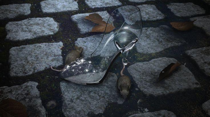 Glass Slipper by ~lilacblur on deviantART
