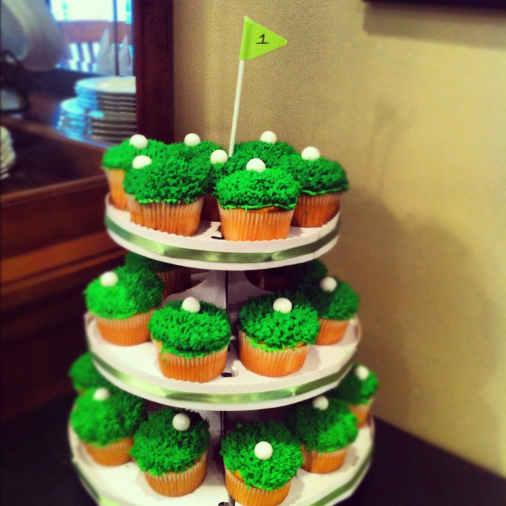 17 Best Images About Golf Cupcakes On Pinterest Golf