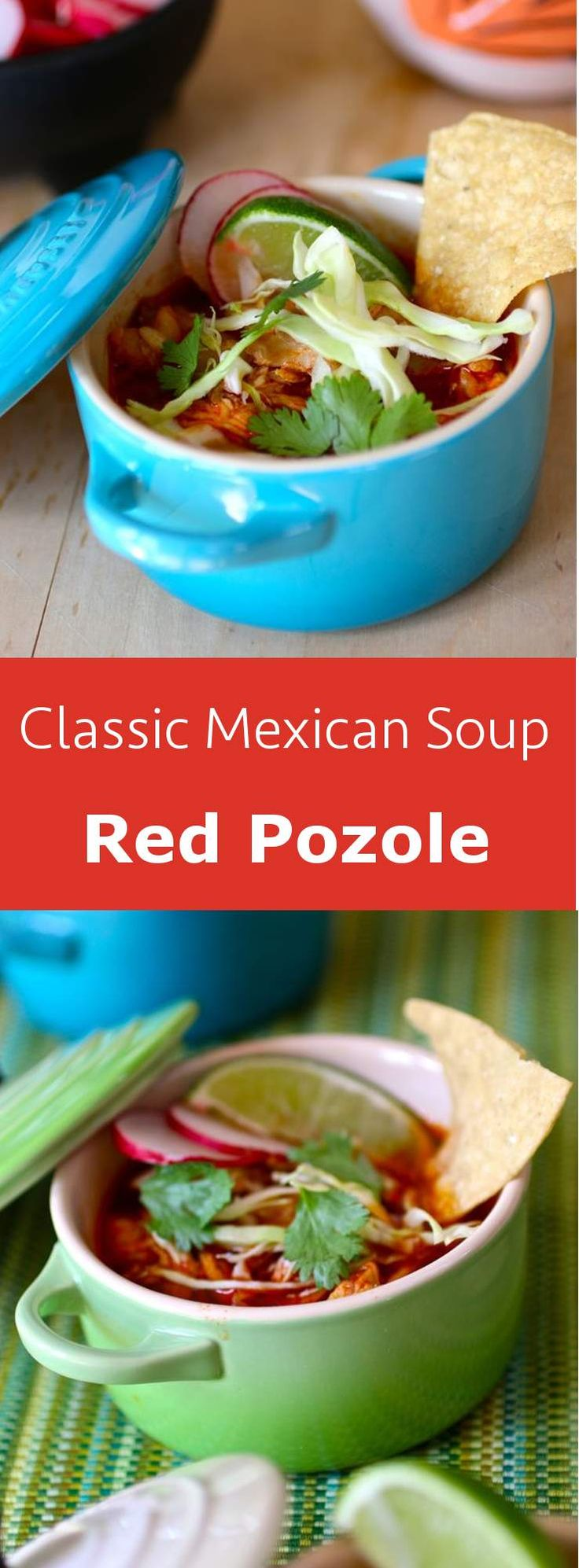 Pozole is a festive Mexican dish, a pre-Colombian soup or stew traditionally…