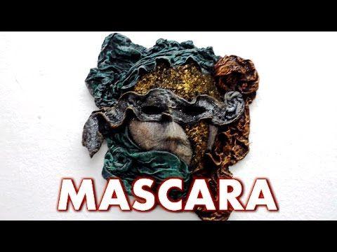 Mascara de papel, tela y cascara de huevo - PAPER, FABRIC MASK AND SHELL EGG - YouTube