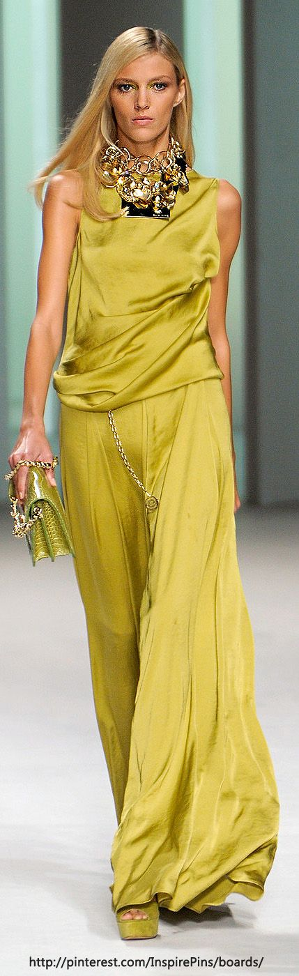 Elie Saab - I love the sleek look, however the color is very difficult to wear.