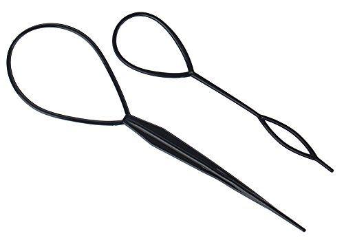 Set of 2pcs Simple to Use Black Plastic Hair Braiding / P... http://www.amazon.com/dp/B00K6COY68/ref=cm_sw_r_pi_dp_x7kmxb1WZPYAY