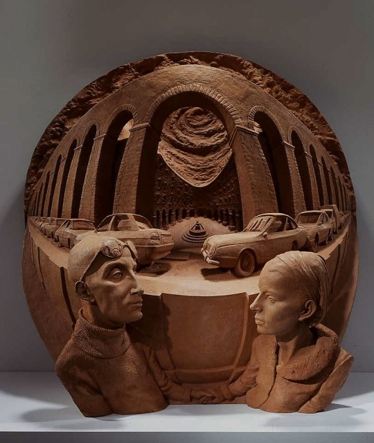 "Paul Day ""Arnold's Bride"" terracota resin"